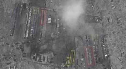 """La red discutió imágenes de satélite con equipos militares rusos """"junto a Ucrania""""."""