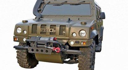 国防部比较装甲车