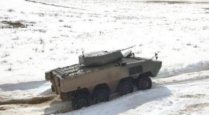 """A Turquia ofereceu ao Cazaquistão um veículo de combate com rodas """"Arma"""" 8X8"""