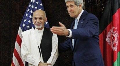 约翰克里命令阿富汗人在选举中重新计票