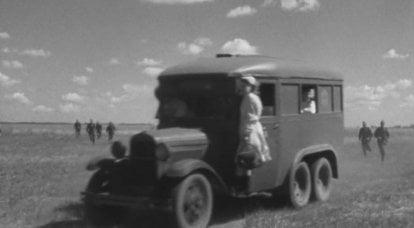 Automobili sanitarie della Grande Guerra Patriottica: speciali e artigianali