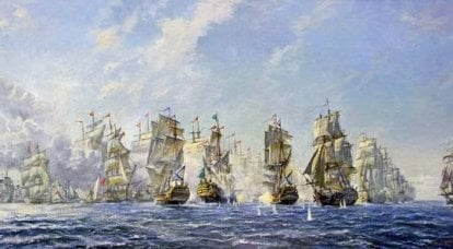 """The Turkish fleet was """"already completely defeated to the extreme"""""""