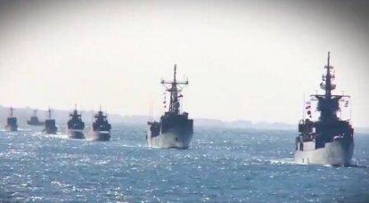 """Mısır Donanması """"Mistrals"""" ve bir İsrail gemisinin imha edildiği bir video gösterdi"""