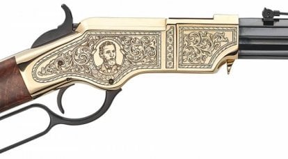 200 years of Henry. First working lever action rifle