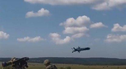 ジャベリン対戦車誘導ミサイルシステムがウクライナで戦闘訓練を実施