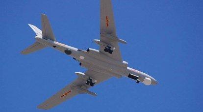 中国の長距離爆撃機航空の数は急激に減少しています