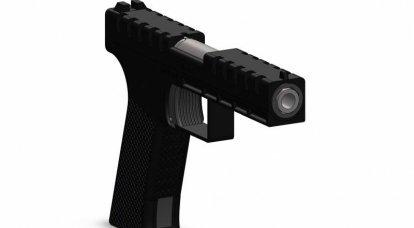 Pistolet Breechblock pour cartouches à haute impulsion