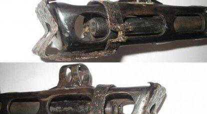 Au lieu de ciseaux et de couteaux: une balle contre un fil