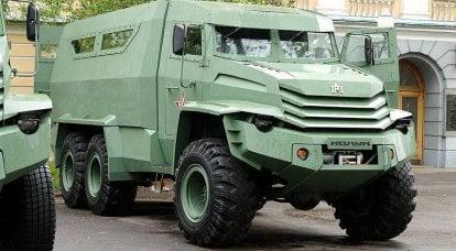 """提出新的装甲车""""Toros""""和""""Cleaver"""""""