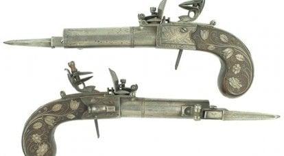 Pistolets ... à baïonnettes