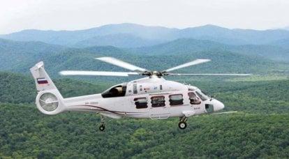 Hubschrauber Ka-62 und seine Eigenschaften