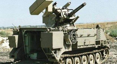 """विमान भेदी मिसाइल और बंदूक प्रणाली """"महबेट"""" (इज़राइल)"""