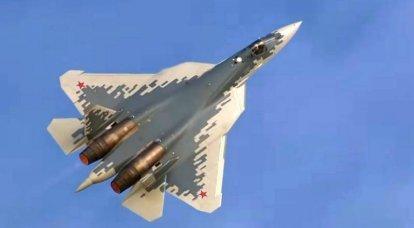 Sina: EUA invejam novo caça furtivo russo Su-57