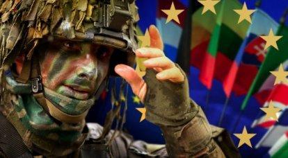 누가 유럽 연합군의 프로젝트를 생각해 냈는가?