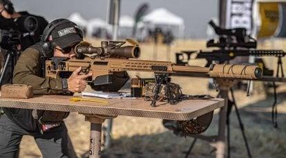 Les forces spéciales américaines ont choisi le fusil de précision Mark 22 Barrett (MRAD)