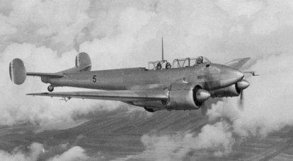 Kampfflugzeug. Bedingt schwere, bedingt Kämpfer