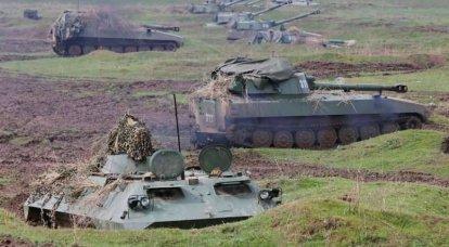 Artilheiros TsVO mostrou tiro legal no Tajiquistão