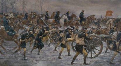 Raid de Noël à Washington: la défaite des mercenaires hessois à Trenton
