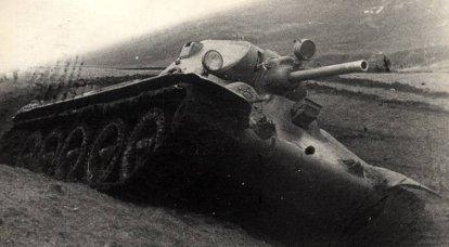 Como o tanque T-34 com o L-11 foi recriado no jogo