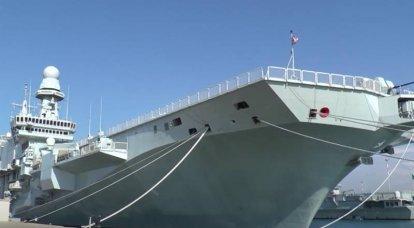 """Comandante do porta-aviões da Marinha Italiana: """"Ver caças F-35B no convés de nosso navio é uma conquista notável"""""""