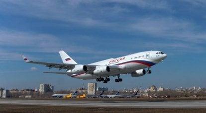 El ruso Il-96 fue nuevamente acusado de violar la frontera aérea de Estonia