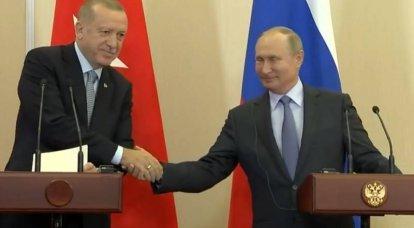 बैठक: रूस और तुर्की के राष्ट्रपतियों ने फोन द्वारा इदलिब की स्थिति के बारे में बात की