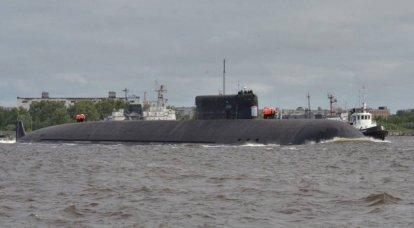 """329 projesinin nükleer denizaltı K-09852 """"Belgorod"""", fabrika deniz denemelerinin ilk aşamasını tamamladı"""