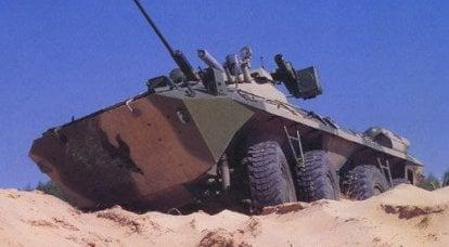 新しい装甲人員運搬船の最近の試験