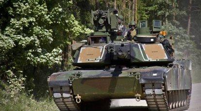 미국에서는 Abrams 전차포가 현대화되고 있습니다
