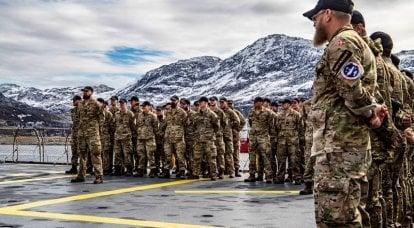 """Das dänische Verteidigungsministerium kündigte eine """"russische Bedrohung"""" in der Arktis an und verlegte seine Streitkräfte nach Grönland"""