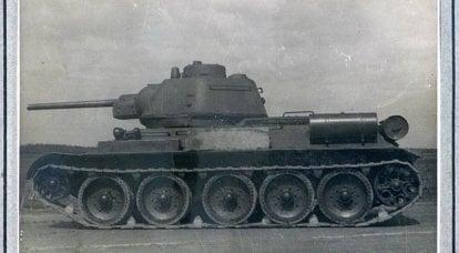 T-34가 적의 사격을 받고 있습니다. 사실과 통계