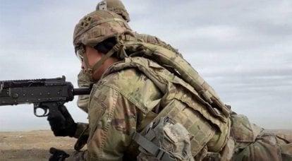 「そして、まったくヒットしなかった男がいました」:米軍兵士が射撃への出口を示しています