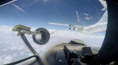 中国空军的空中加油机的困境使北京在APR中的能力受到影响
