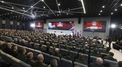 俄罗斯武装部队。 2017年度业绩