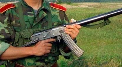 中国の短機関銃