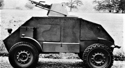 Ein Panzerwagen statt Motorrad. Hillman Gnat Project (Großbritannien)