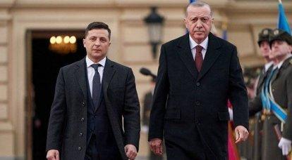 """Turquia ajudará na """"desocupação"""" da Crimeia: Zelensky manteve conversações com Erdogan"""