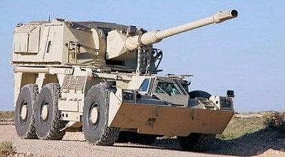 Rheinmetall विश्व बाजार पर RWG-155 रेनो 52-mm ACS को बढ़ावा देता है