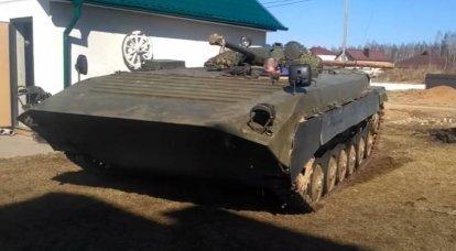BMP-1: un vehículo de combate, cuyo papel es difícil de sobreestimar