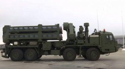 第一套S-350 Vityaz防空系统进入俄罗斯航空航天部队服役