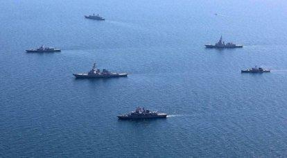 """黑海欢迎""""海风-2021""""垂死的参与者"""