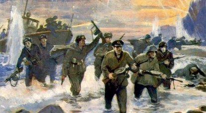 影との戦い。 大祖国戦争における黒海艦隊