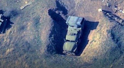A camuflagem não ajuda: o Azerbaijão mostrou a destruição do MLRS e outros equipamentos militares do inimigo
