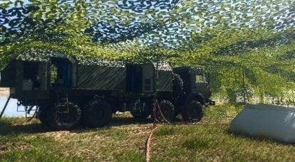 複合清掃ステーションSKO-10 / 5「衛生」。 1時間で連隊に水をやる