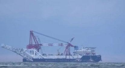 Nord Stream 2 운영자는 나머지 섹션의 작업 시작을 연기했습니다.