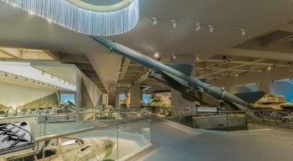 在中国革命军事博物馆展出的弹道,巡航和防空导弹