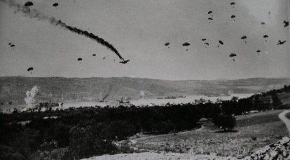 德军如何冲入克里特岛