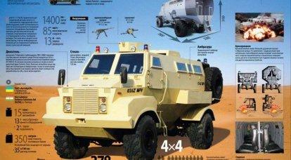 KrAZ-01-1-11 / SLDSL  - 新一代乌克兰轮式装甲车