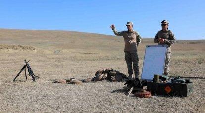 Los propios militares ucranianos publicaron pruebas del uso de minas antipersonal durante el ejercicio.