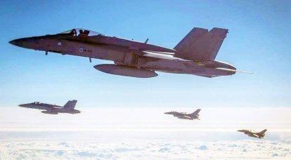 Die US Air Force demonstrierte Fähigkeiten über dem Schwarzen Meer